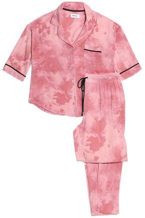 DKNY Tie-day stretch-modal jersey pajama set