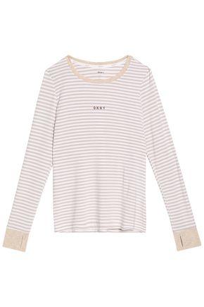 DKNY Modal-blend jersey pajama set
