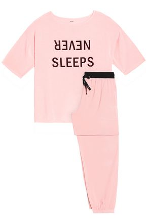 DKNY Printed modal-blend jersey nightshirt