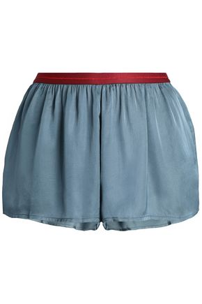 LOVE STORIES Satin pajama shorts