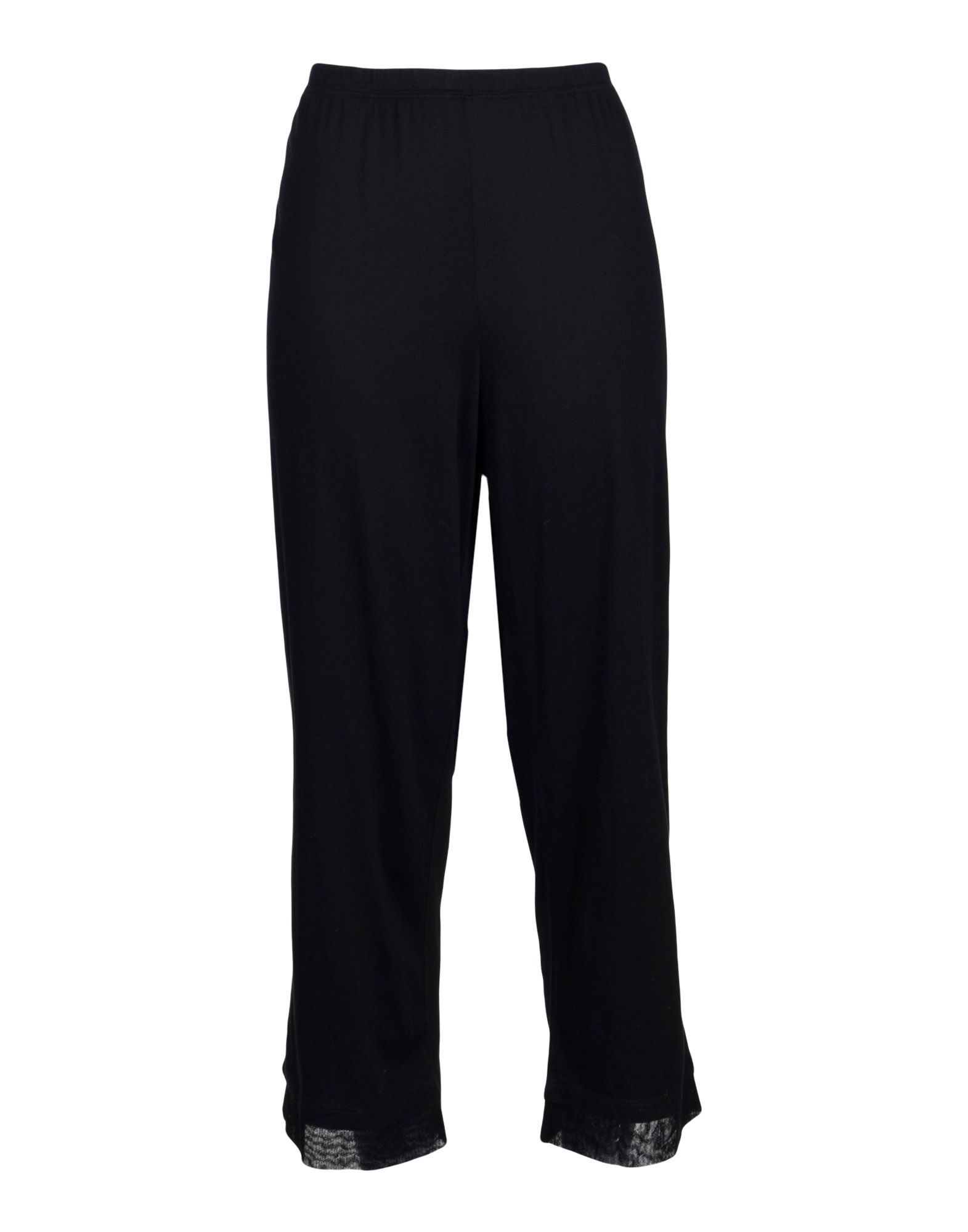 SKIN レディース パジャマ ブラック 4 ピマコットン 100%
