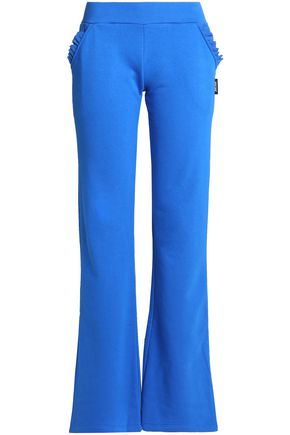 JUST CAVALLI UNDERWEAR French cotton-blend terry pajama pants