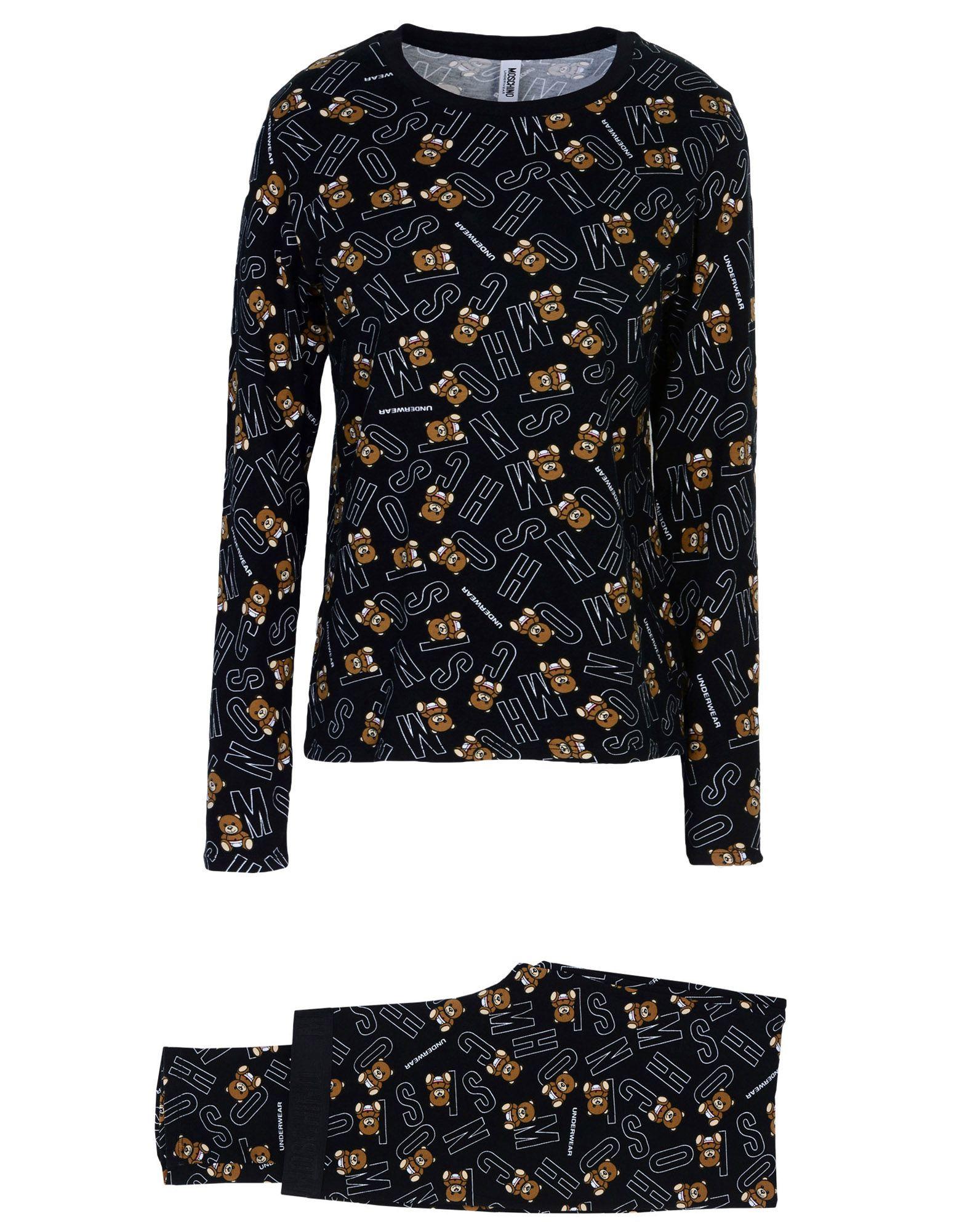 MOSCHINO Пижама пижама с шортами из джерси 10 16 лет