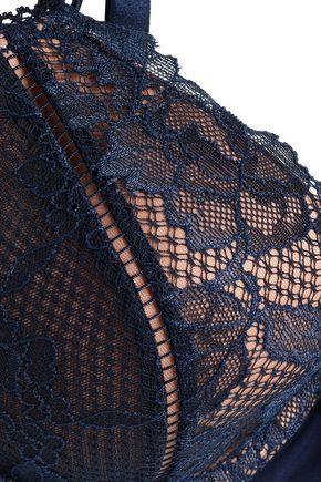 HEIDI KLUM INTIMATES Petunia Passion lace underwired balconette bra