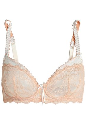 HEIDI KLUM INTIMATES Masquerade Muse paneled lace underwired soft-cup bra