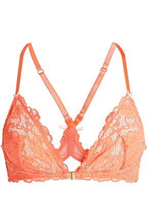 HEIDI KLUM INTIMATES Lace soft-cup triangle bra