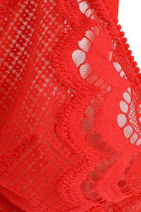 HEIDI KLUM INTIMATES Velvet Orchid lace underwired contour bra