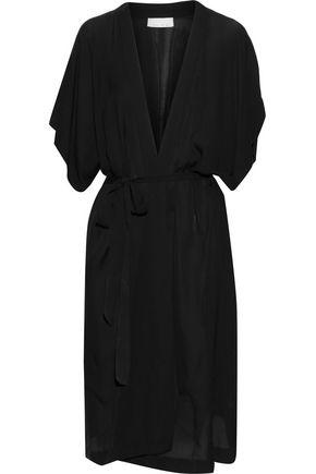 FLEUR DU MAL Silk crepe de chine robe