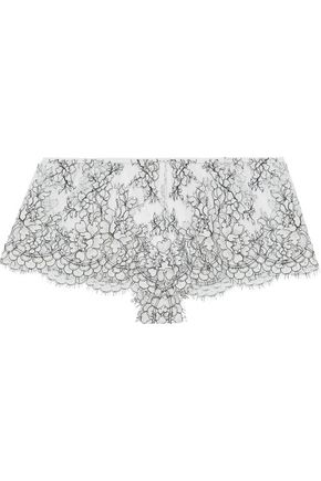 I.D. SARRIERI Corded lace mid-rise briefs