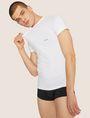 ARMANI EXCHANGE CLASSIC V-NECK LOGO SHIRT, 2 PACK Undershirt Man a