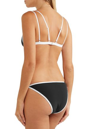 ELLE MACPHERSON BODY Stretch-mesh and jersey soft-cup bra