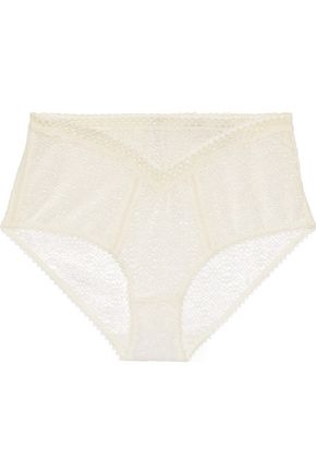 STELLA McCARTNEY Willow Wandering lace high-rise briefs