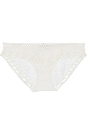 STELLA McCARTNEY Lace low-rise briefs