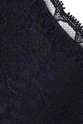 STELLA McCARTNEY Lace underwired bra