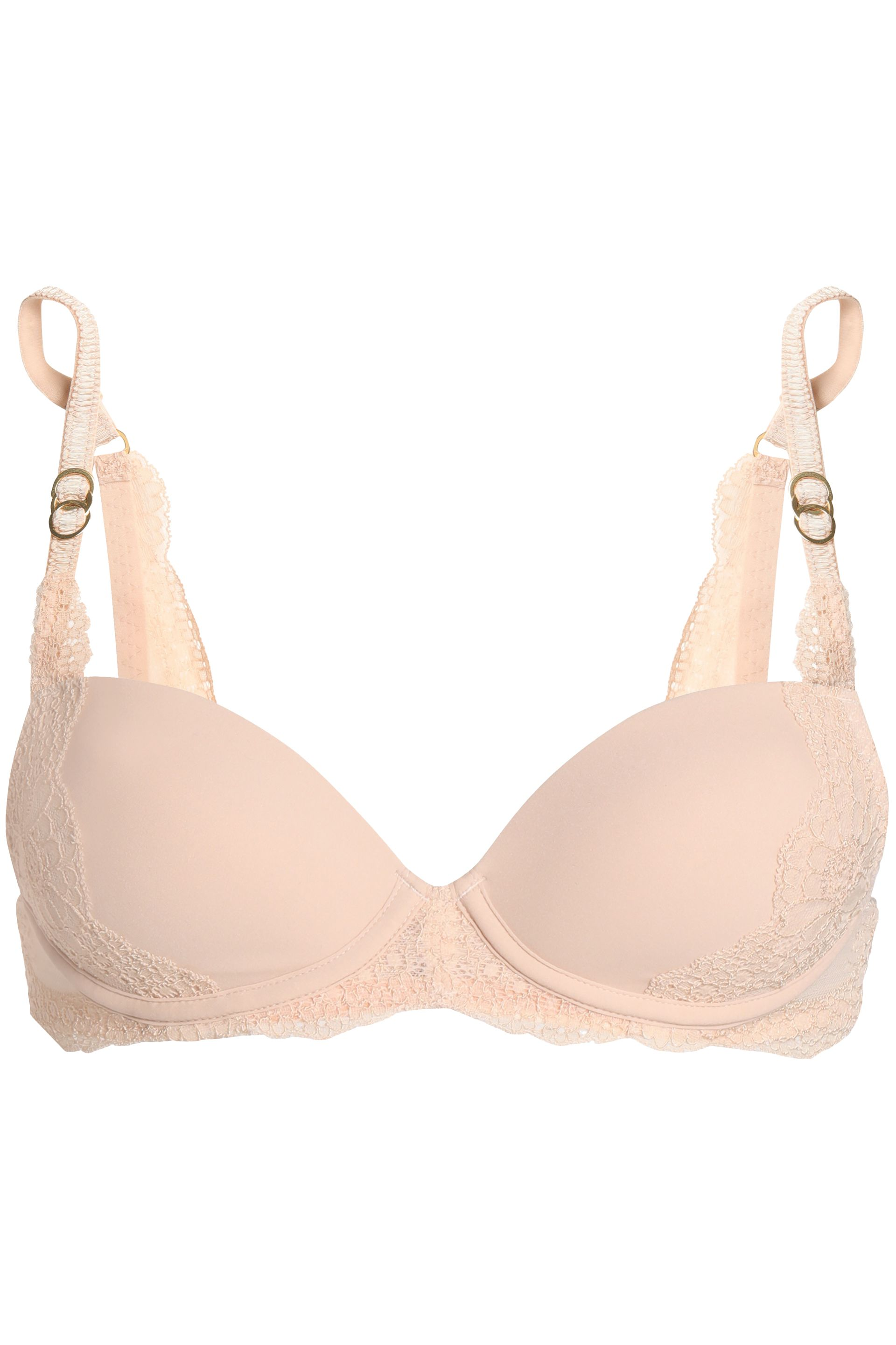 6777999a66a21 stella mccartney lace and stretch jersey underwired push up bra ...