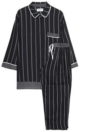 DKNY Printed voile pajama set