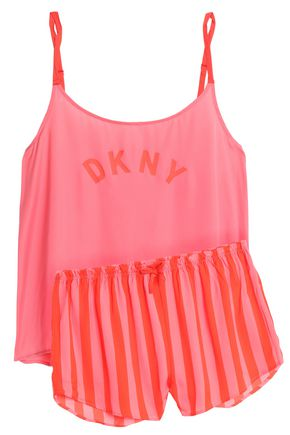 DKNY Printed satin pajama set