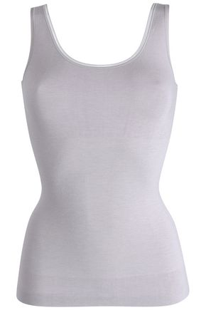 YUMMIE by HEATHER THOMSON Reversible stretch-knit tank