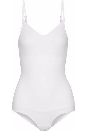 YUMMIE by HEATHER THOMSON Cotton-blend jersey bodysuit