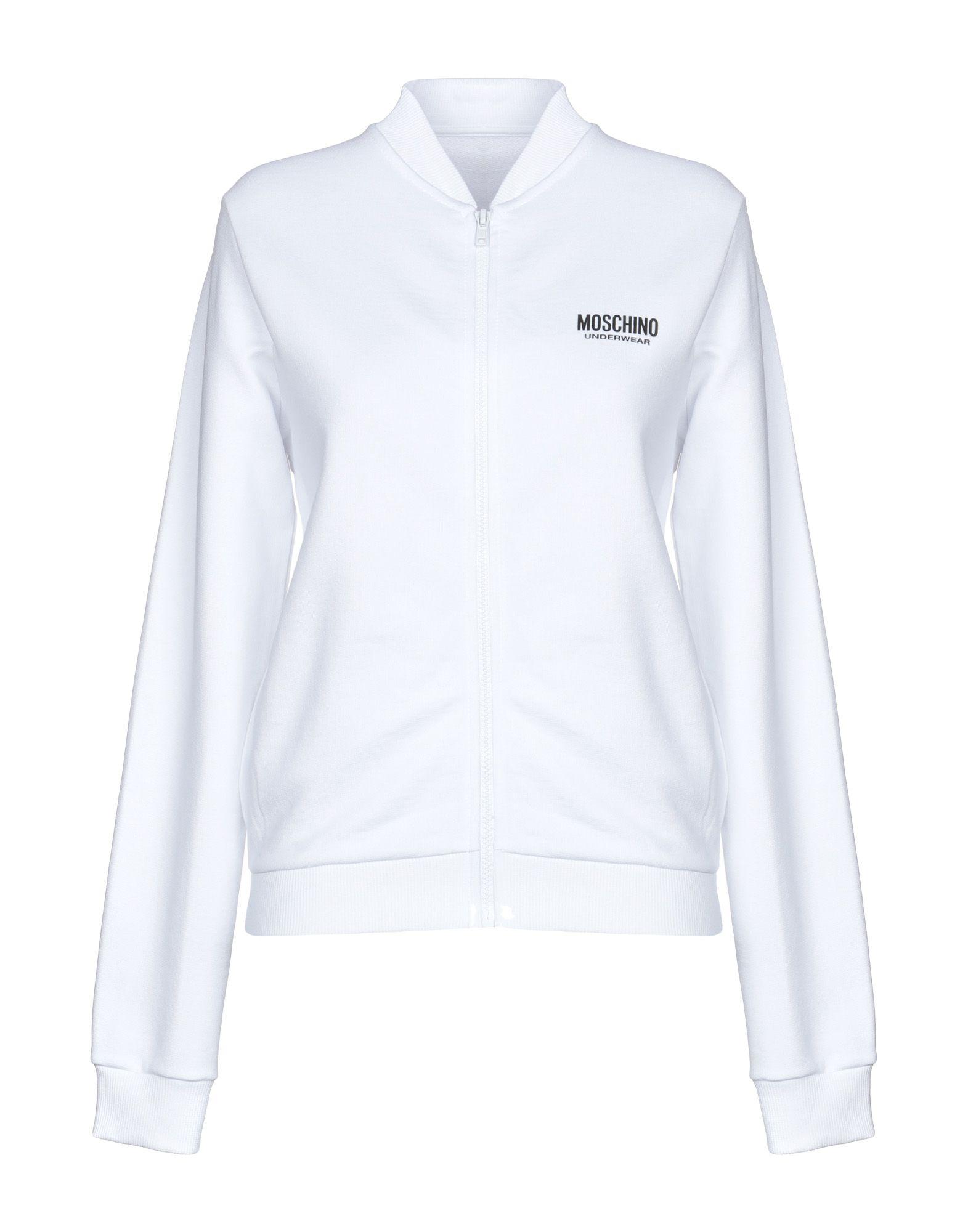《送料無料》MOSCHINO レディース パジャマ ホワイト XS コットン 100%