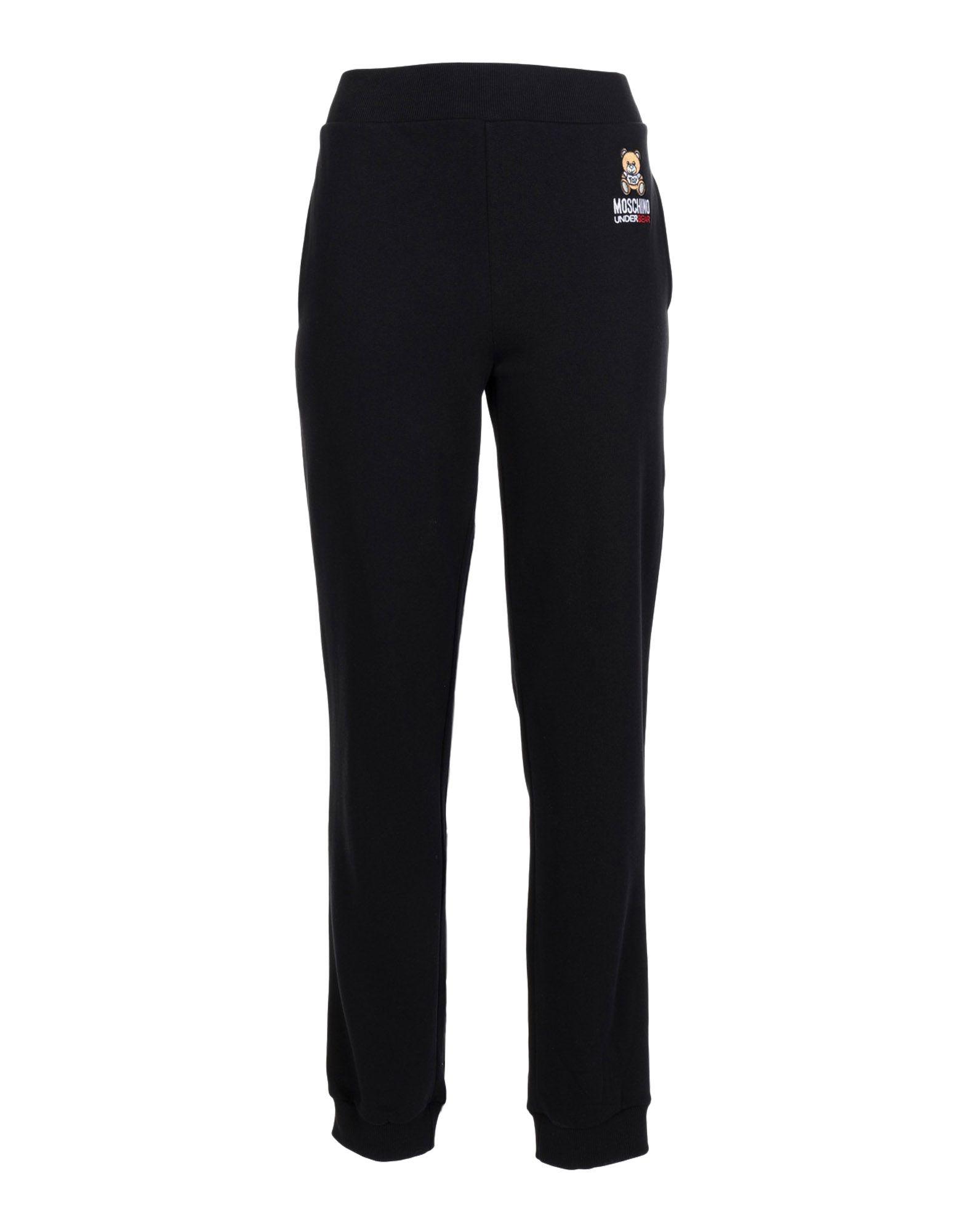《送料無料》MOSCHINO レディース パジャマ ブラック XS コットン 100%