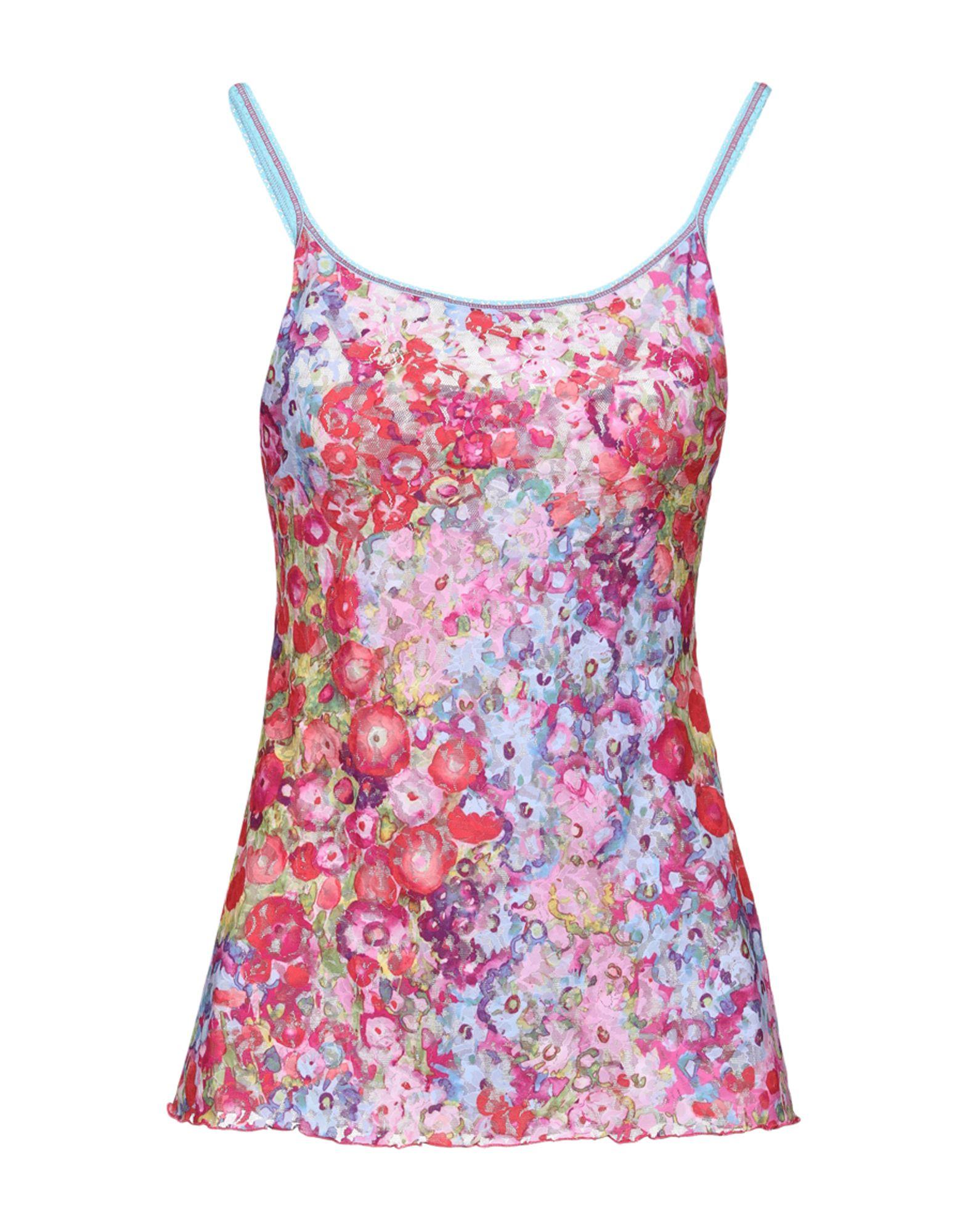 HANKY PANKY Бельевая майка hanky hem floral print cami tank top