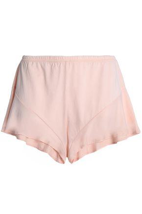 SKIN Pima cotton-jersey pajama shorts