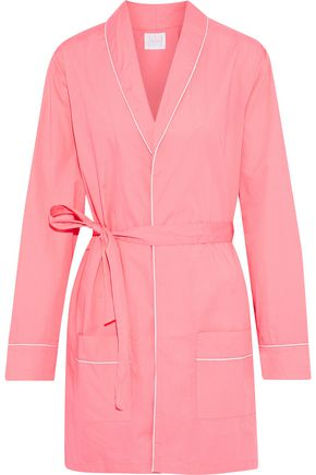 THREE J NYC Alex cotton-poplin robe
