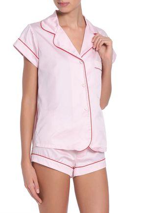 BODAS Cotton-poplin pajama set