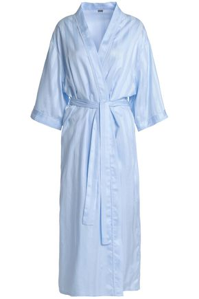 BODAS Cotton-jacquard robe