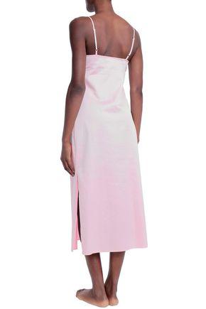 BODAS コットンポプリン ナイトドレス