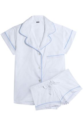 BODAS Cotton-poplin pajama set