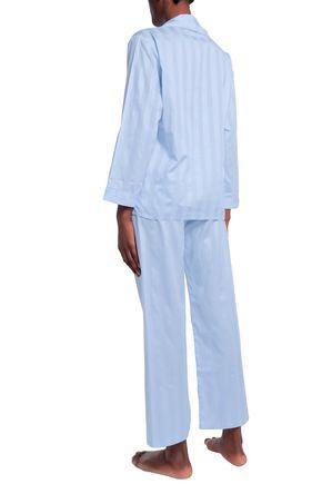 BODAS Striped cotton pajama set