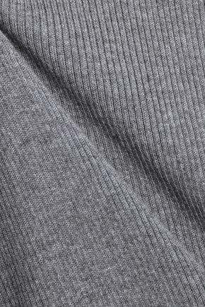 EQUIPMENT Cosette mélange cotton-blend jersey travel set