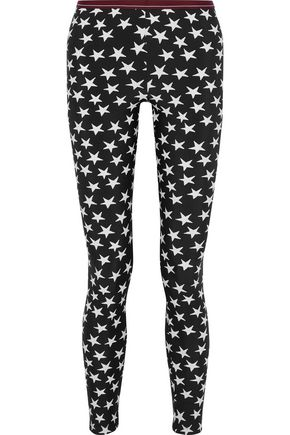 LOVE STORIES Leo printed stretch leggings