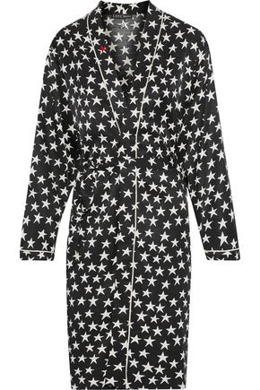 LOVE STORIES Susie printed twill robe