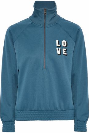 LOVE STORIES Harvey printed jersey sweatshirt