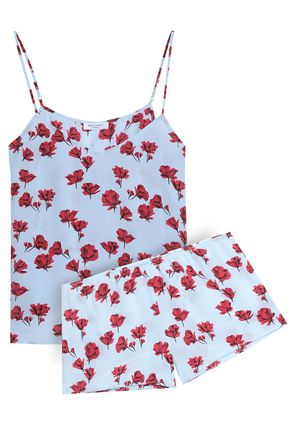 EQUIPMENT Alexy floral-print silk crepe de chine pajama set