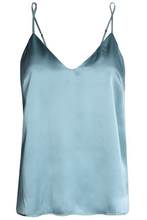 ANINE BING Silk-satin camisole