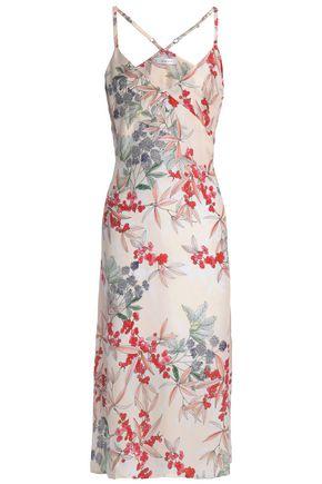 ANINE BING Floral-print silk nightdress