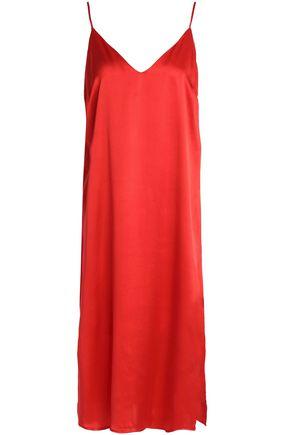 ANINE BING Silk-satin nightdress