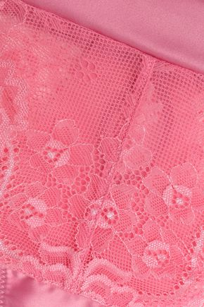 HEIDI KLUM INTIMATES Embellished cutout lace low-rise briefs