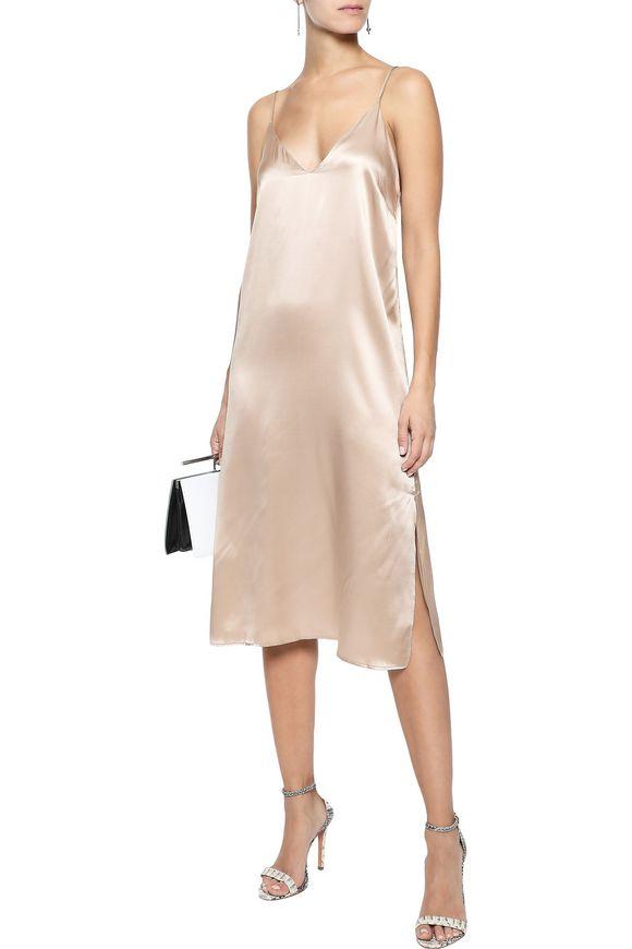b6c037a77de7 Gemma silk-satin slip dress | ANINE BING | Sale up to 70% off | THE ...