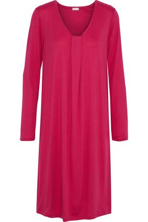 HANRO Astrid cotton and modal-blend jersey nightdress