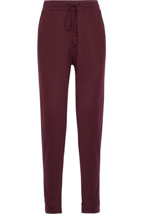 HANRO Soho cotton and cashmere-blend pajama pants