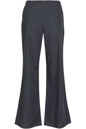 THREE GRACES LONDON Cotton-poplin pajama pants