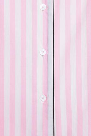 YOLKE Striped cotton pajama set
