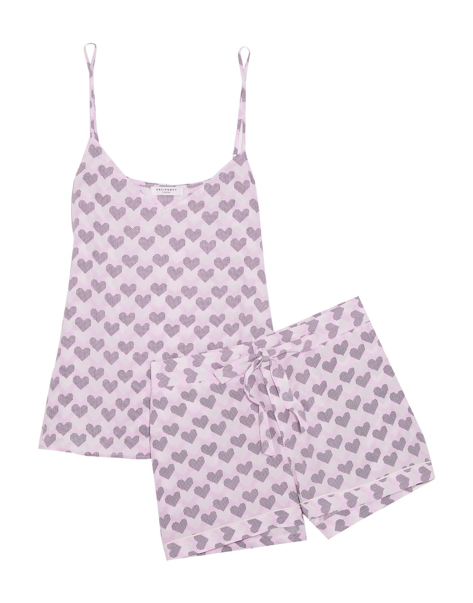 《送料無料》EQUIPMENT レディース パジャマ ピンク XS シルク 100%