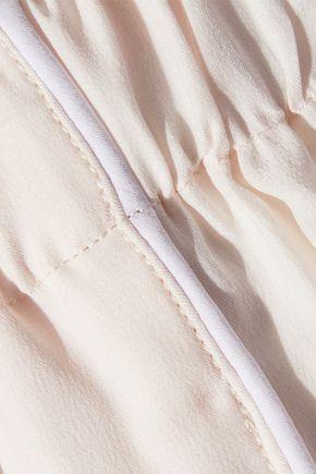 SLEEPY JONES Marina silk pajama pants