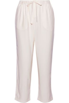 SLEEPY JONES Marina silk pajama pants